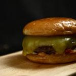 Black Angus Chuck roll burgeri