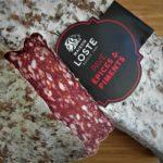 Chilillä maustettu ranskalainen salami Pavé.